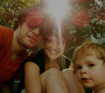 Une jeune famille